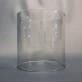 Extraglas 110x116 cylinder (klar eller frostad) till bl.a. Petromax, Optimus, Primus, Radius - Extraglas begagnad cylinder transparent