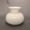 Vestaskärm opal - 100 mm (Skärm till fotogenlampa) - Vesta vit 100 mm