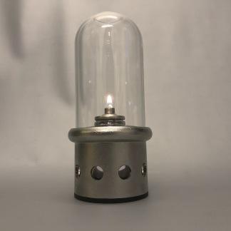 Restauranglampan Fyrtorn II - rostfri oljelampa - Fyrtorn II - restauranglampa med 1st engångsbehållare lampolja