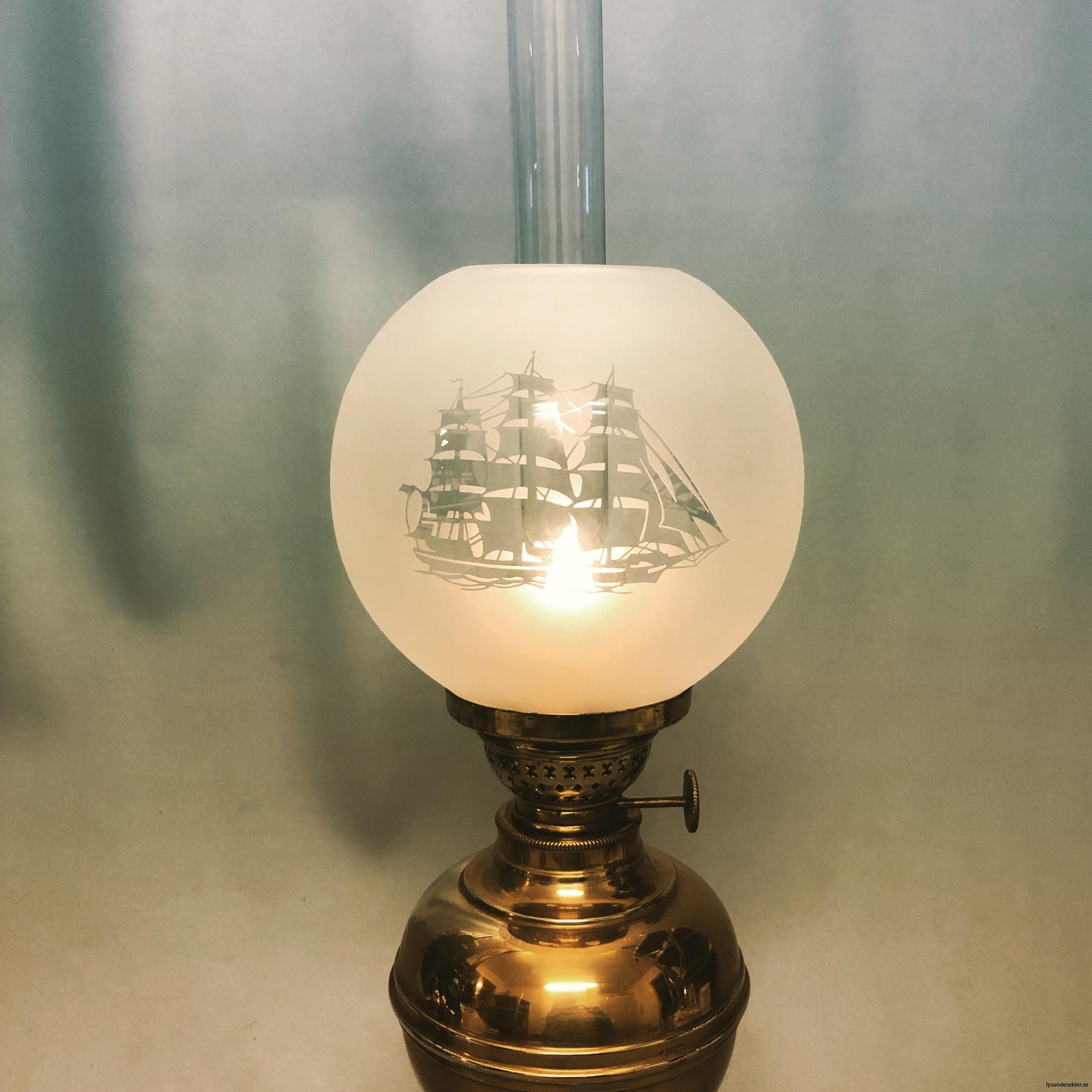 små klotkupor 135 mm till fotogenlampor dansk design2