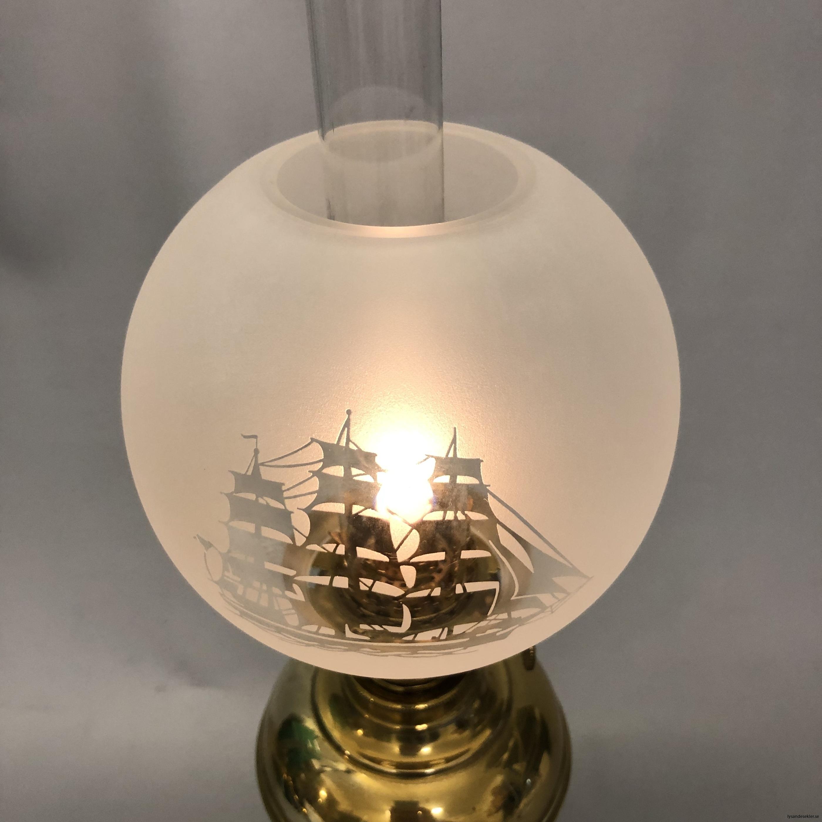 små klotkupor 135 mm till fotogenlampor dansk design4
