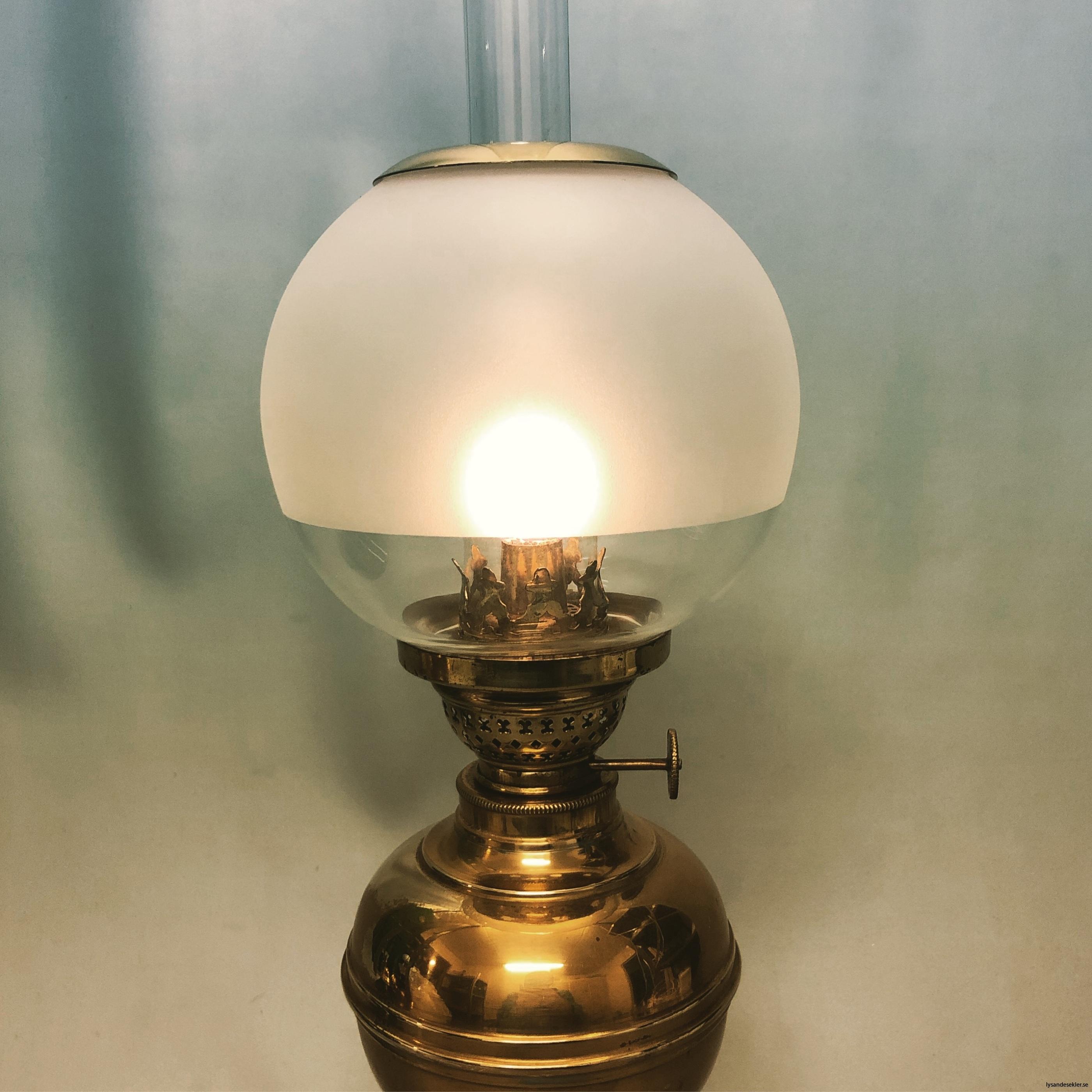 små klotkupor 135 mm till fotogenlampor dansk design14