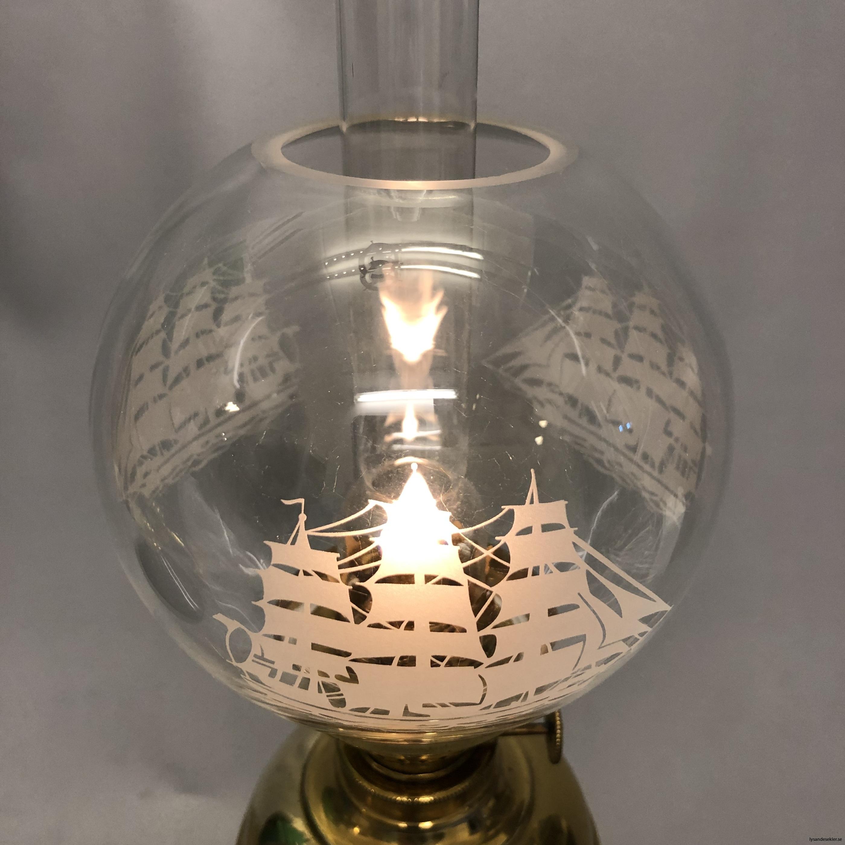 små klotkupor 135 mm till fotogenlampor dansk design22