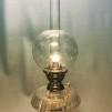 65 mm - Kupa 135 mm dansk klot transparent (Kupa till fotogenlampa)