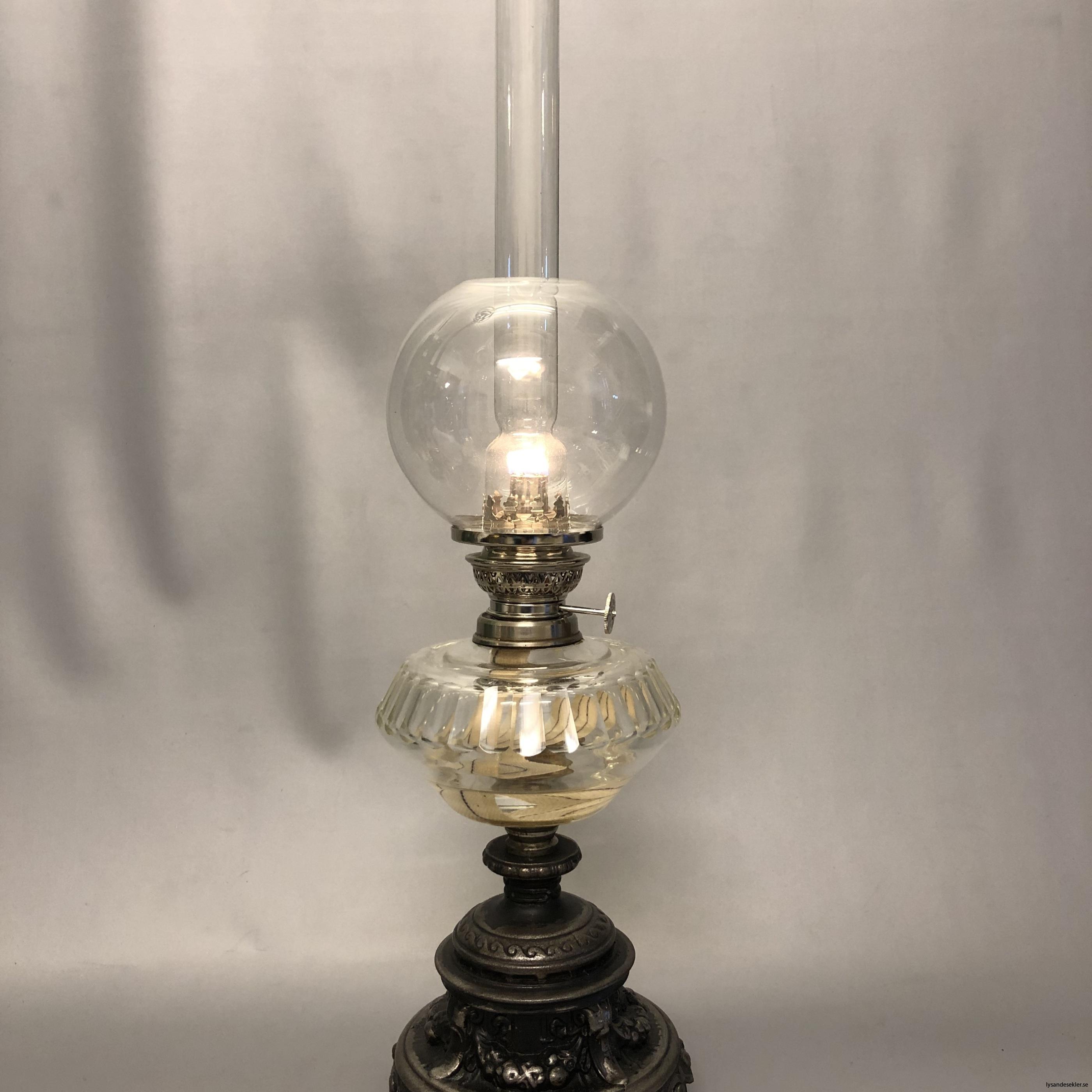 fotogenlampa nicklad