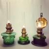 Bordslampa 10''' grön (äldre)