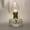 Simris Bylampa 5''' klarglas - Lysande Sekler - Lilla Simris Bylampa - blank mässing med glasklart oljehus