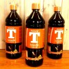 Liten fästemansgåva 3''' i vinrött och vitt (äldre) - Tillval: 1 liter rekommenderad T-lampolja från Kemetyl