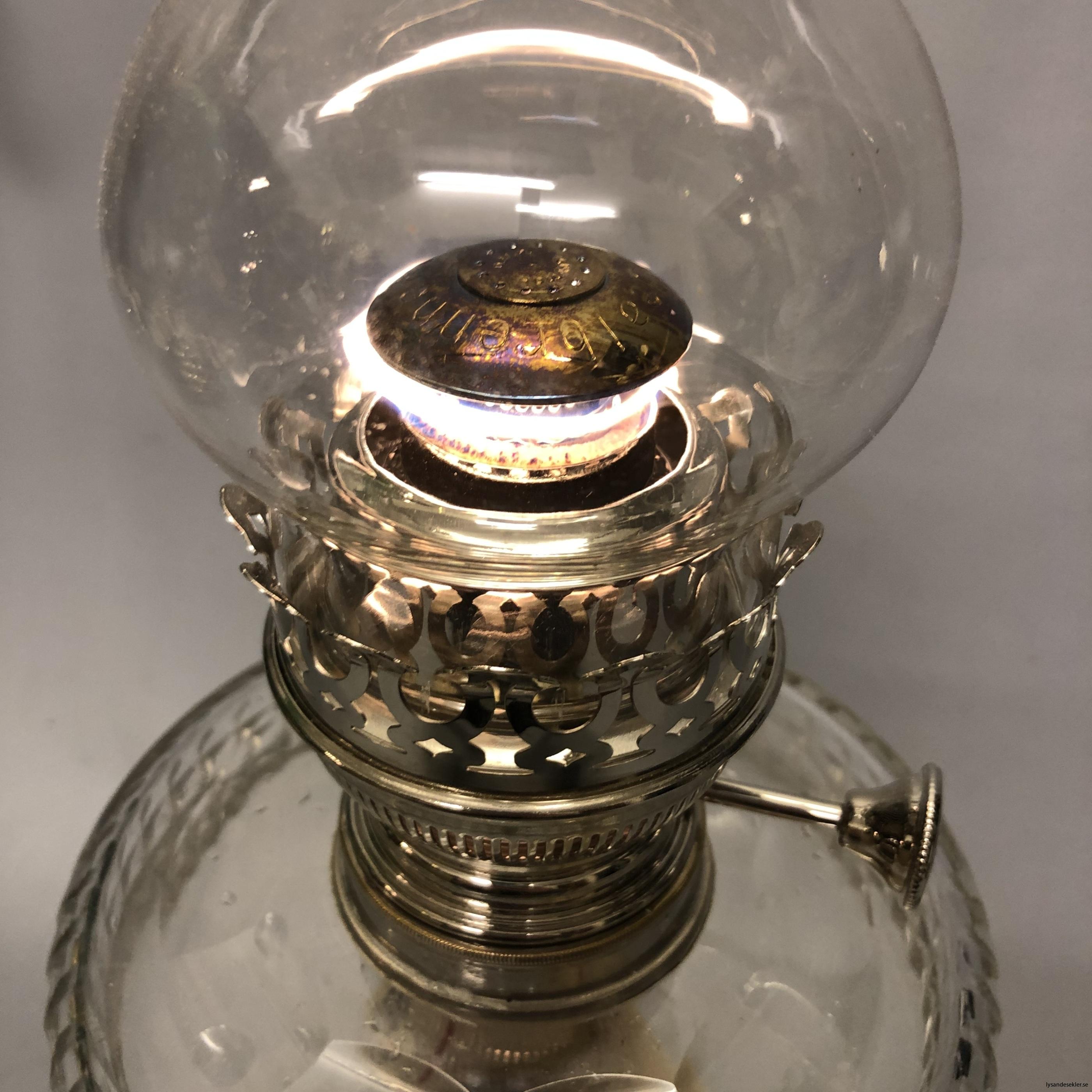 fotogenlampa fotogenlampor oljelampa lysande sekler lampverkstad99
