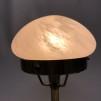 120 mm - Skärm vitmarmorerad extraliten - till Strindbergslampa
