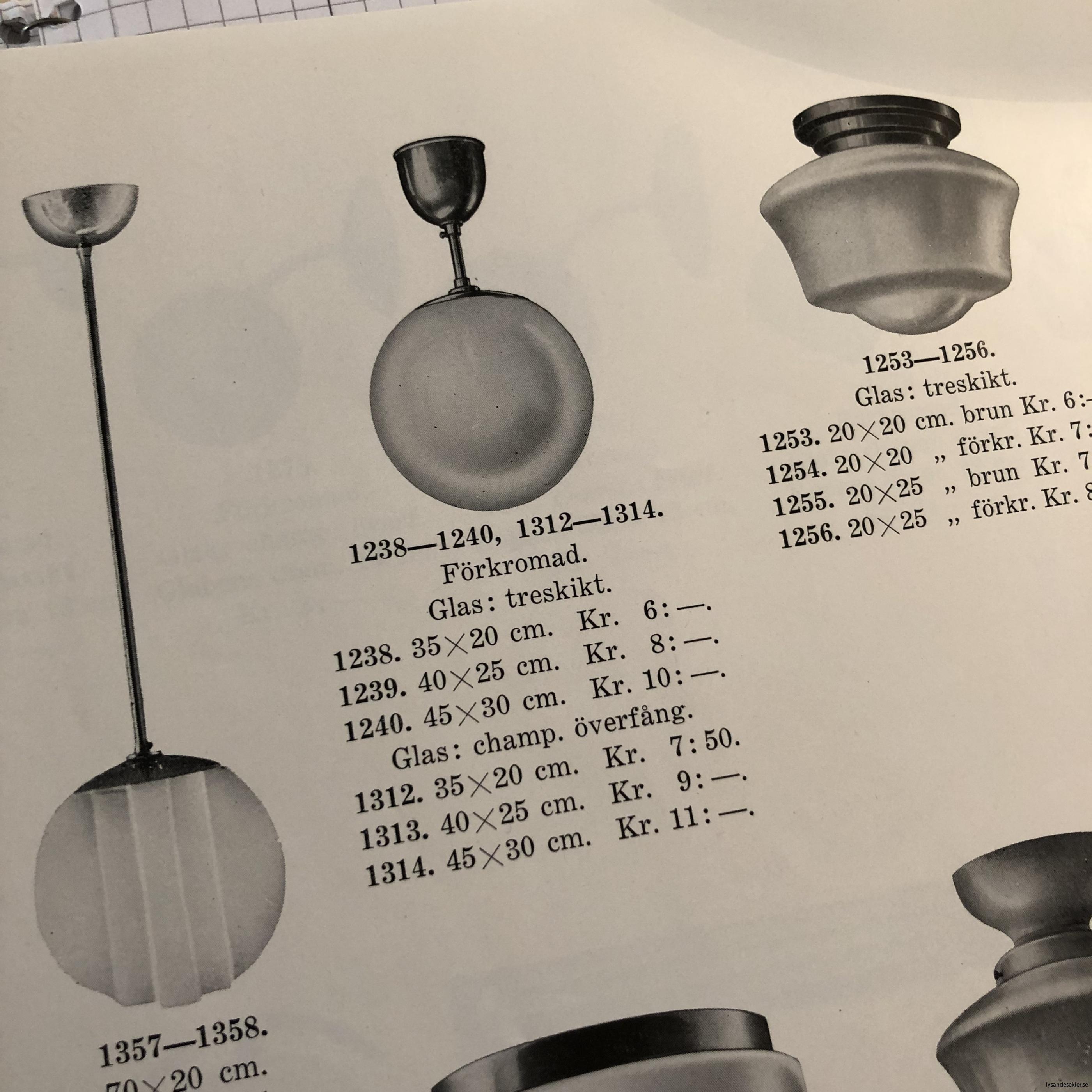 antika 30-tals armaturer lampor olika äldre6