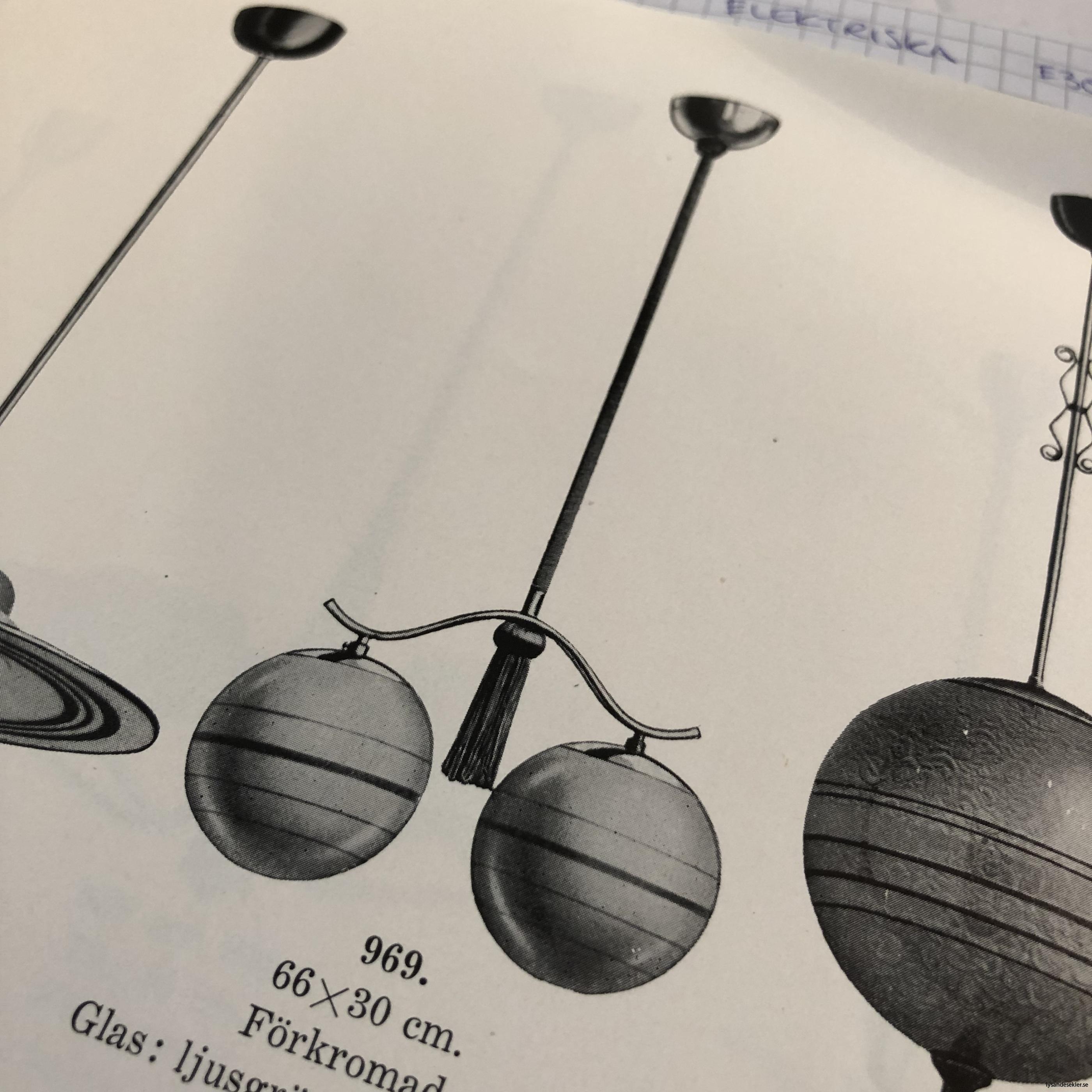 antika 30-tals armaturer lampor olika äldre9