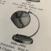 Klotkupa Ø 15 cm blank med 55 mm hål utan krage