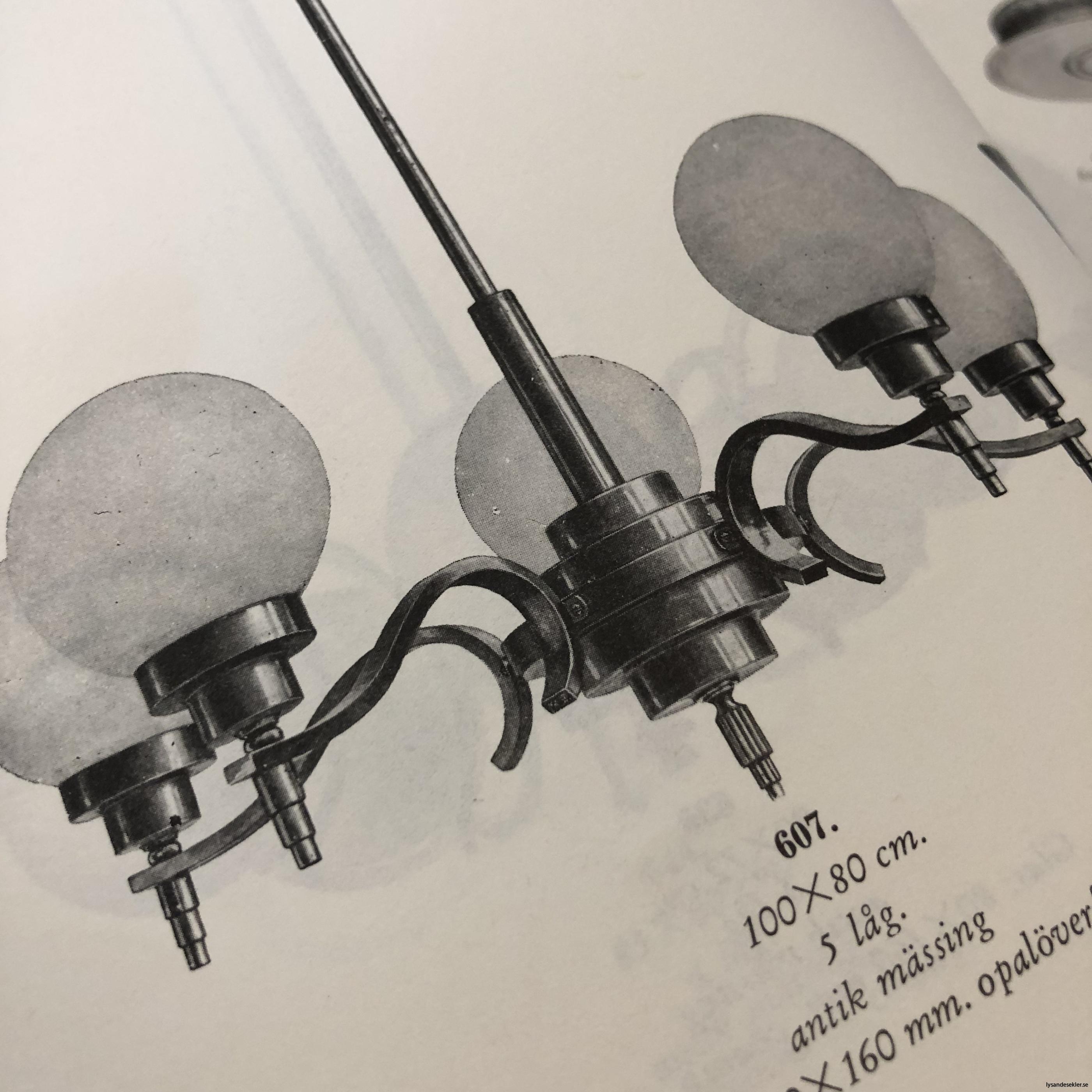 antika 30-tals armaturer lampor olika äldre2