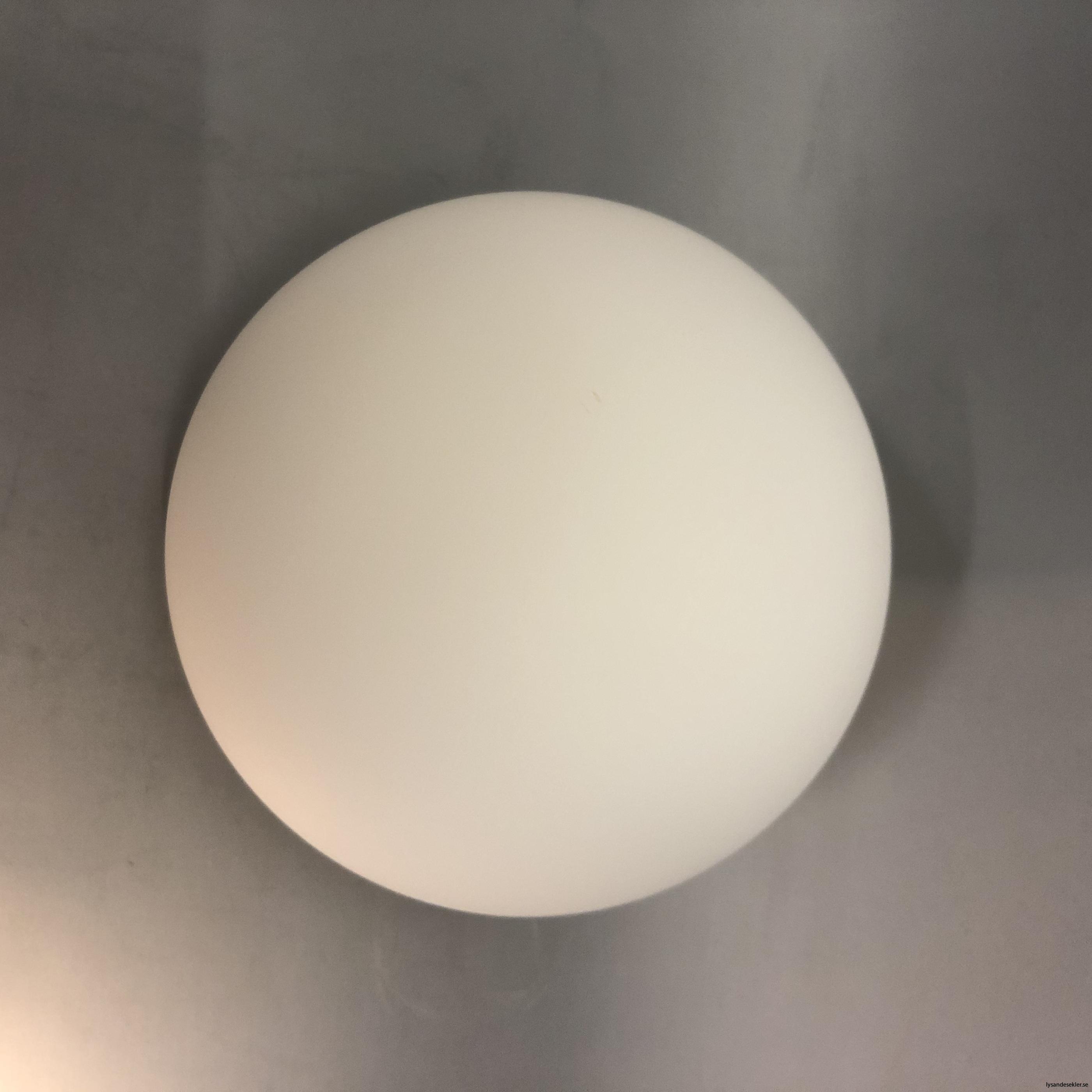klot glas lampklot lampglas klotglas matt blankt vitt hålkupa hål17