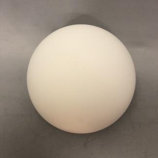 Klotkupa Ø 12 cm matt med 55 mm hål utan krage - Klotkupa MATT med 55 mm hål - 12 cm i diam