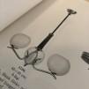 Klotkupa Ø 20 cm matt med 65 mm hål utan krage