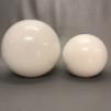 Klotkupa Ø 20 cm blank med 65 mm hål utan krage