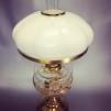 Kraglös vestaskärm - 185 cm vanilj (Skärm till fotogenlampa)