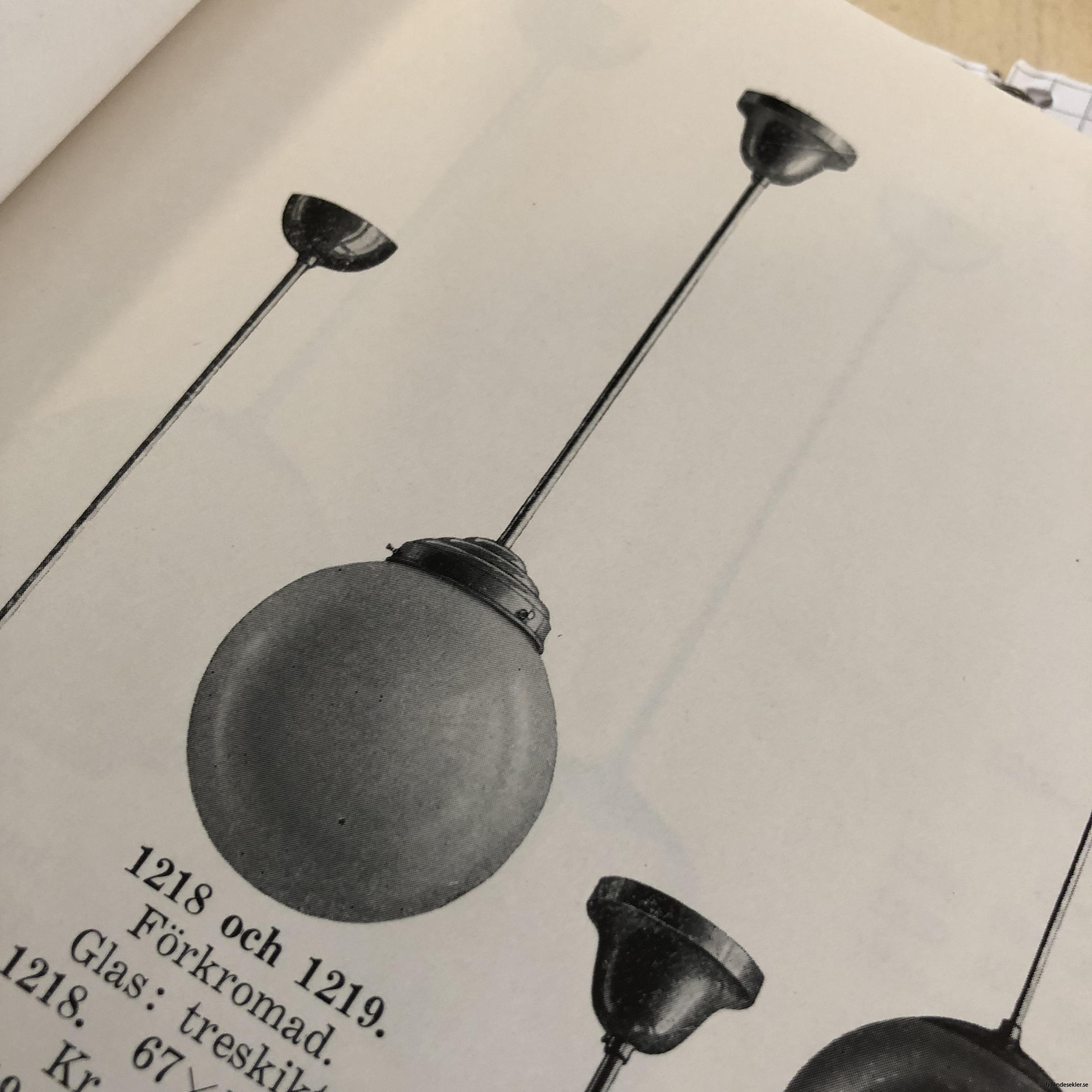 antika 30-tals armaturer lampor olika äldre7