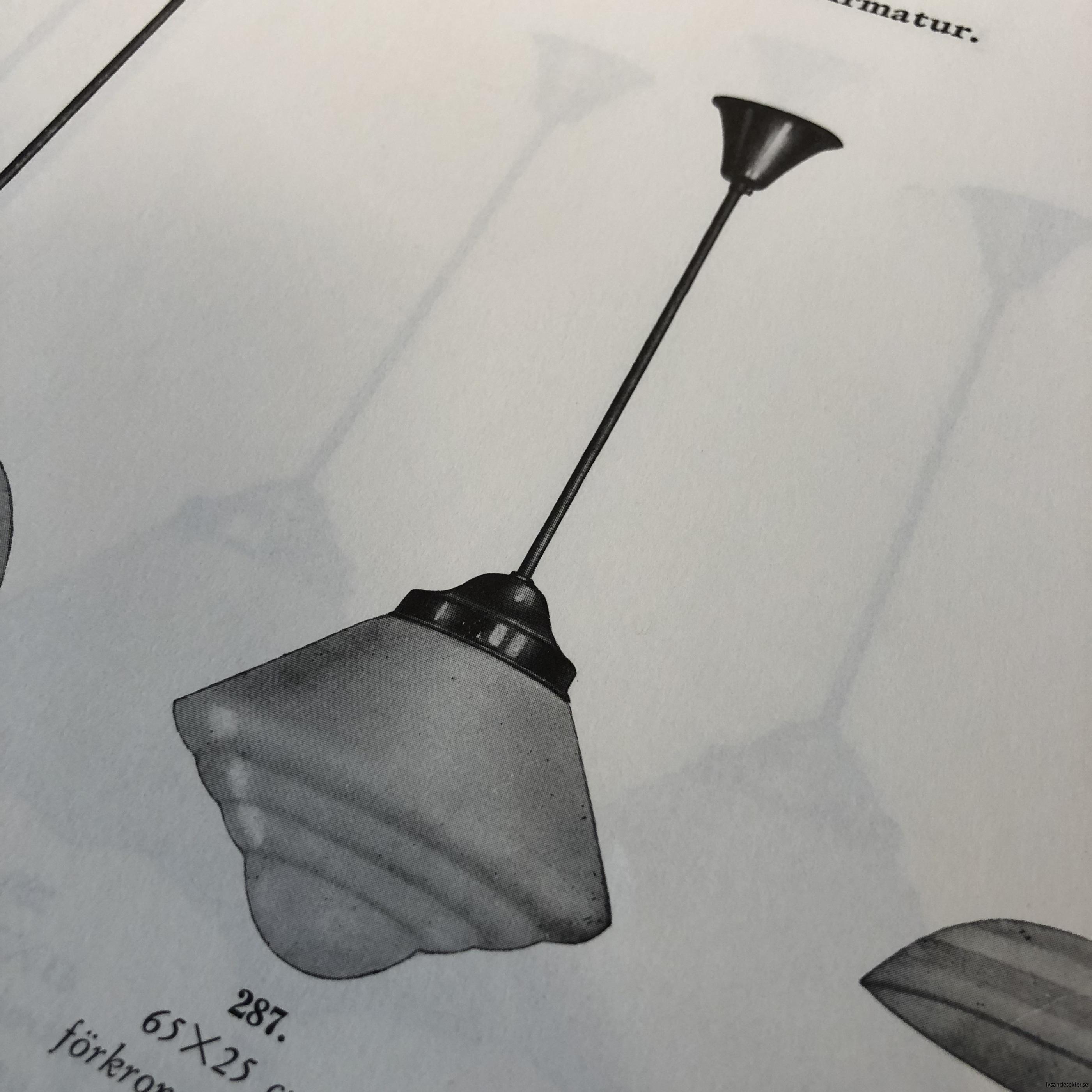 antika 30-tals armaturer lampor olika äldre1