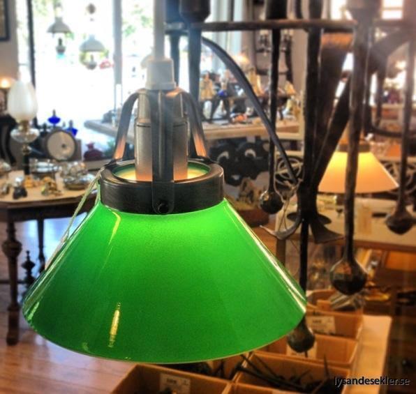 grön skomakarlampa