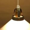 15, 20 och 25 cm - Vita skomakarlampor
