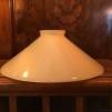 Skomakarskärmar gula - 60 mm krage - Mörkgul skärm 20 cm skomakaremodell (ENDAST SKÄRM)
