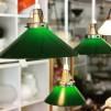 Skomakarskärmar gröna - 60 mm krage