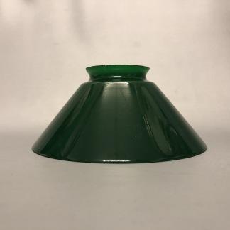 Skomakarskärmar gröna - 60 mm krage - Mörkgrön skärm 15 cm skomakaremodell (ENDAST SKÄRM)