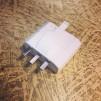 Vaniljtonad skålformad skärm med enkelt plastupphäng - TILLVAL: Öppningsbar jordad DCL-kontakt