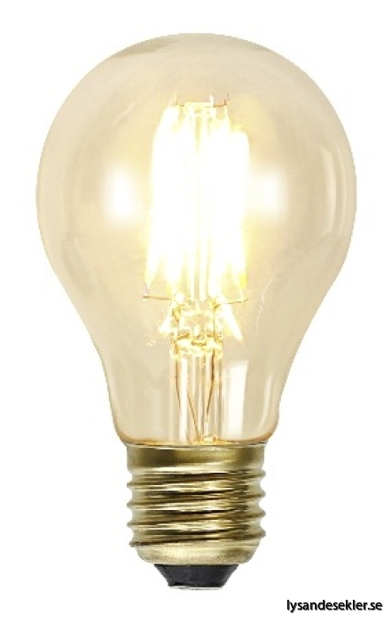 E27 normalformad glödlampa