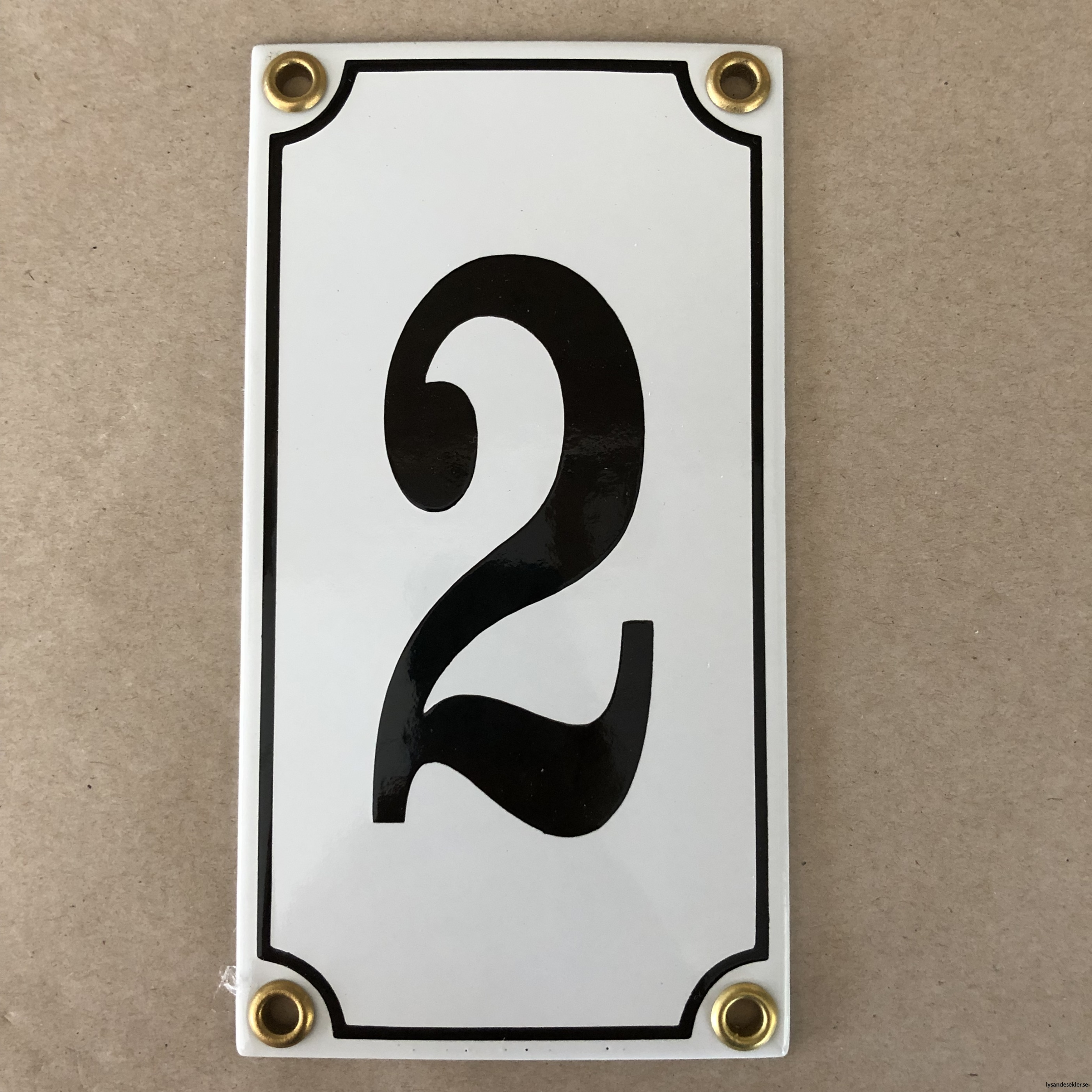 emaljsiffra siffra i emalj fasadsiffra nummer14