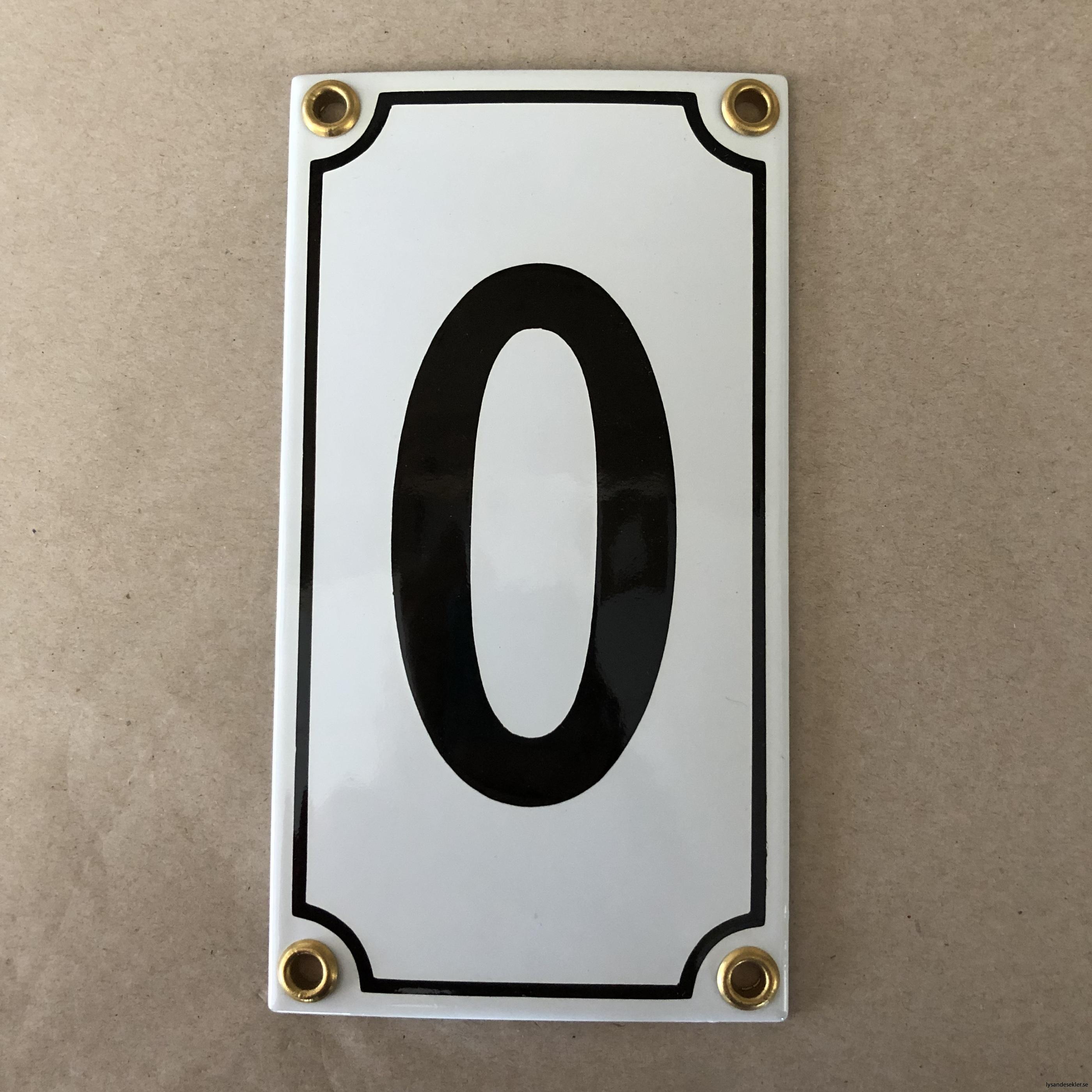 emaljsiffra siffra i emalj fasadsiffra nummer3