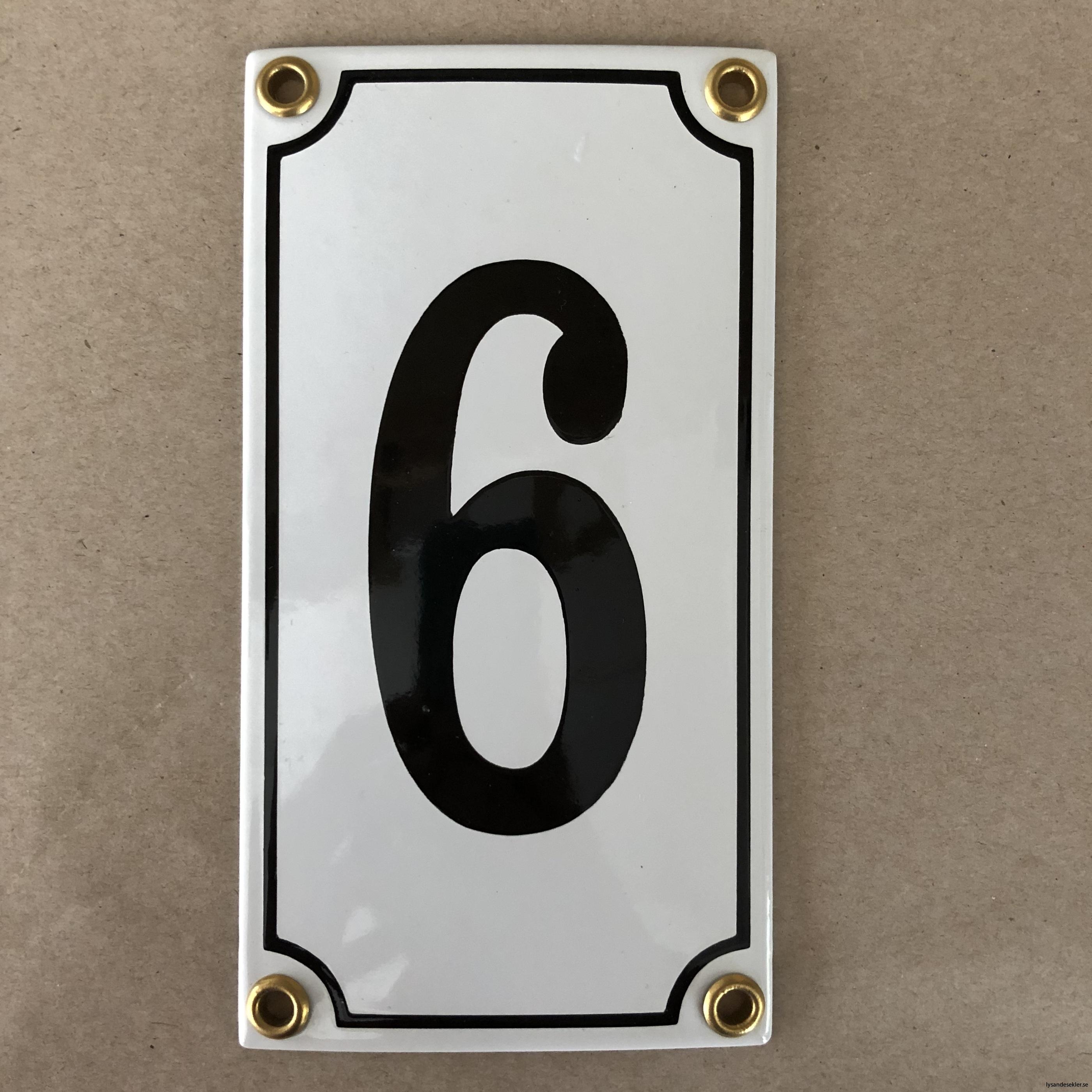 emaljsiffra siffra i emalj fasadsiffra nummer18