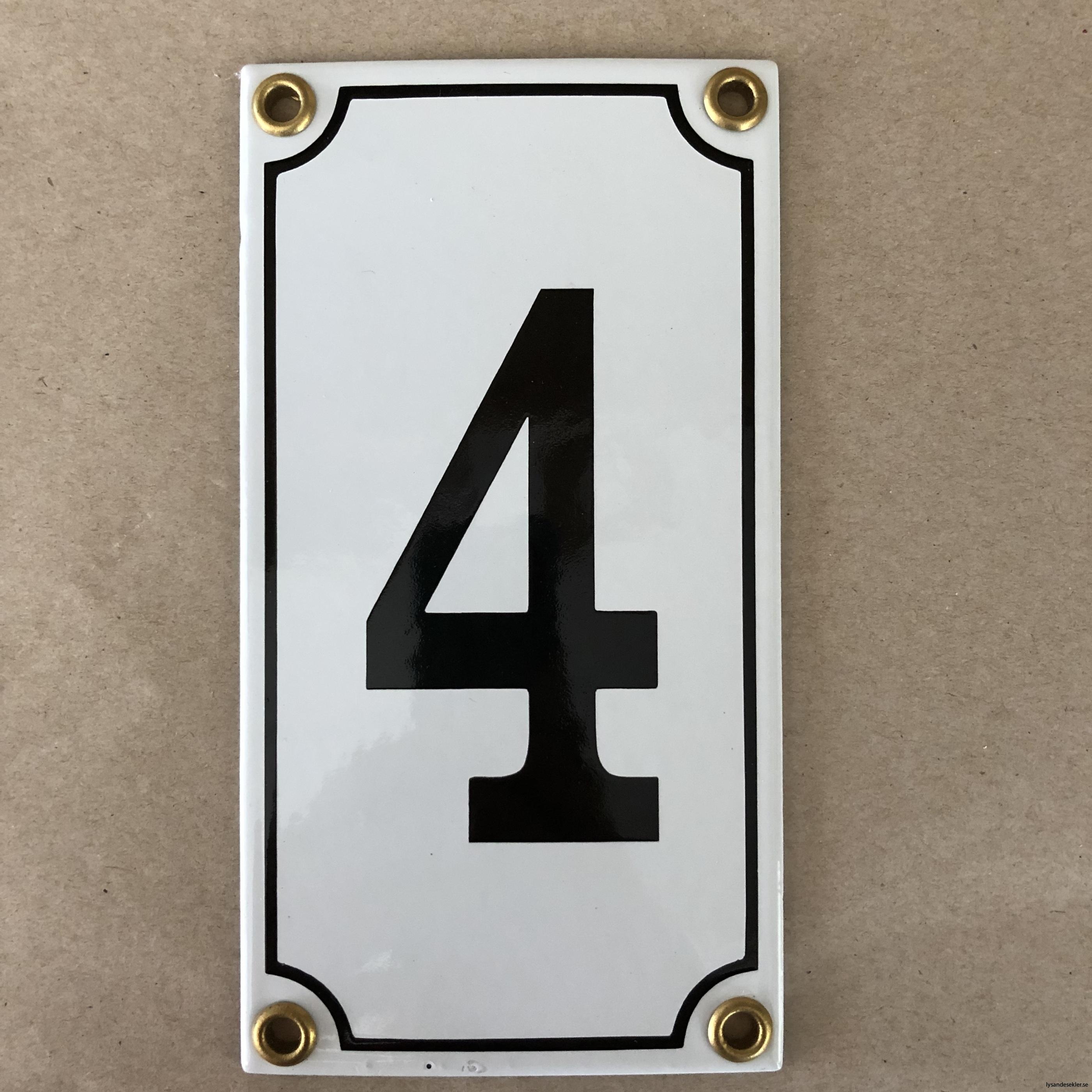 emaljsiffra siffra i emalj fasadsiffra nummer16