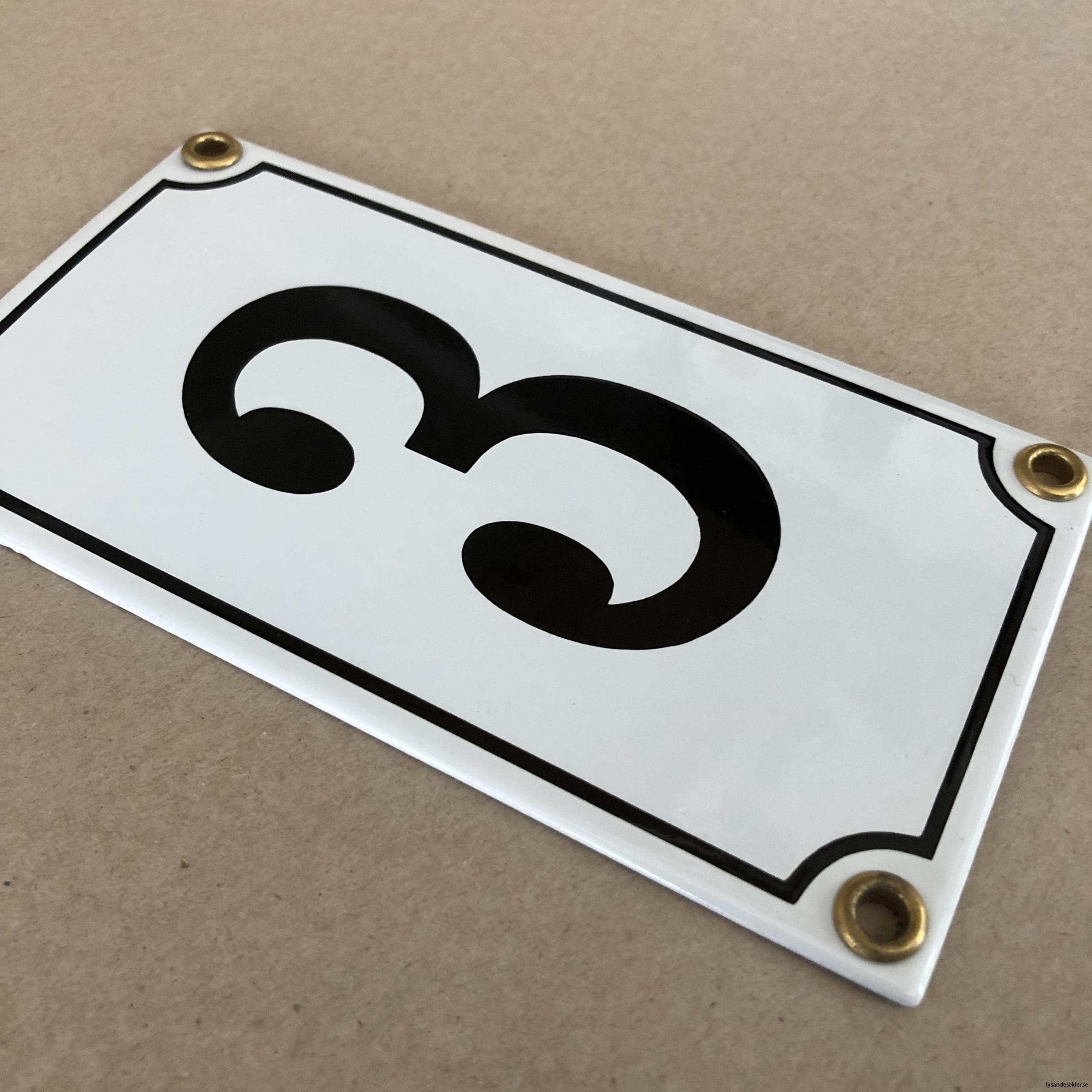 emaljsiffra siffra i emalj fasadsiffra nummer7