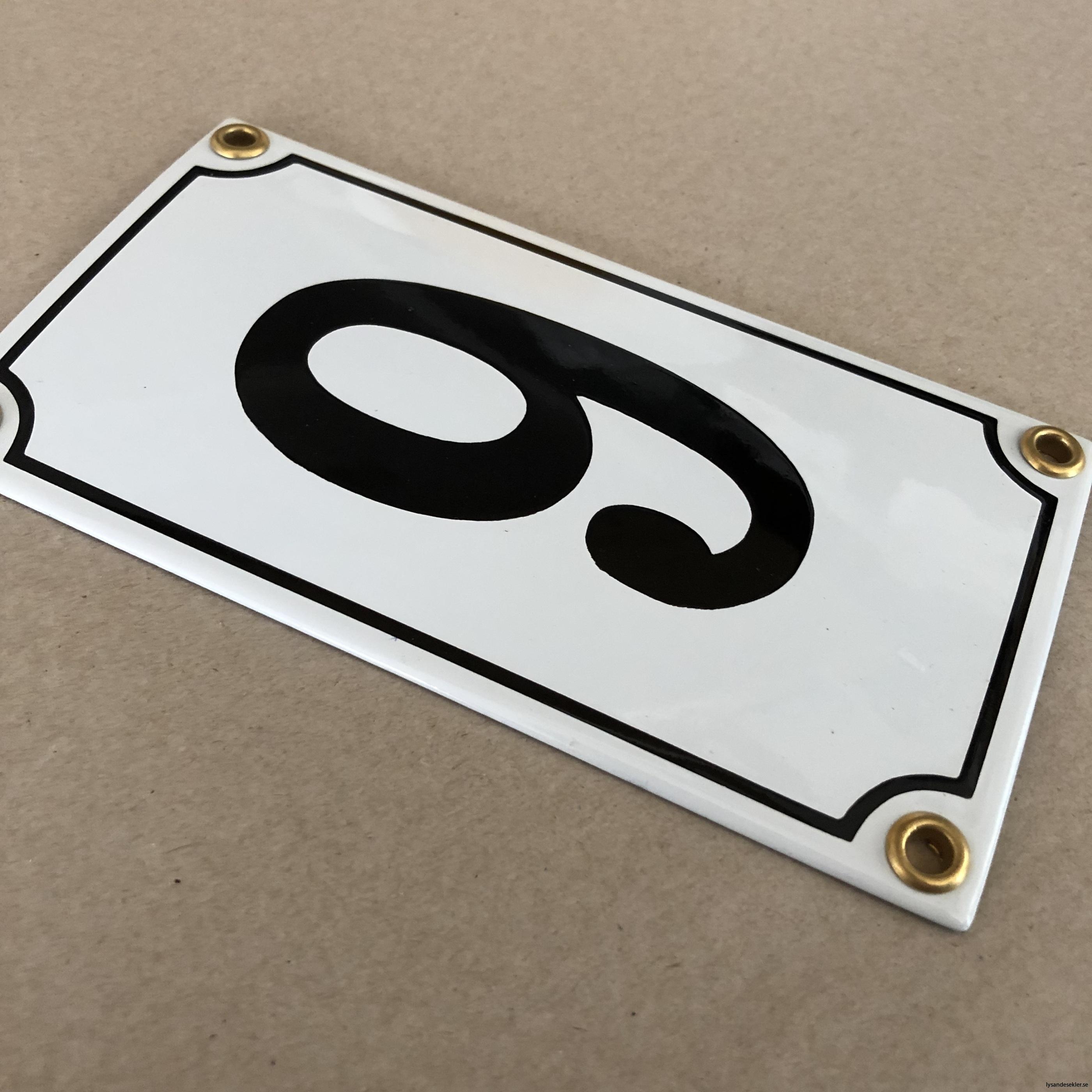emaljsiffra siffra i emalj fasadsiffra nummer11