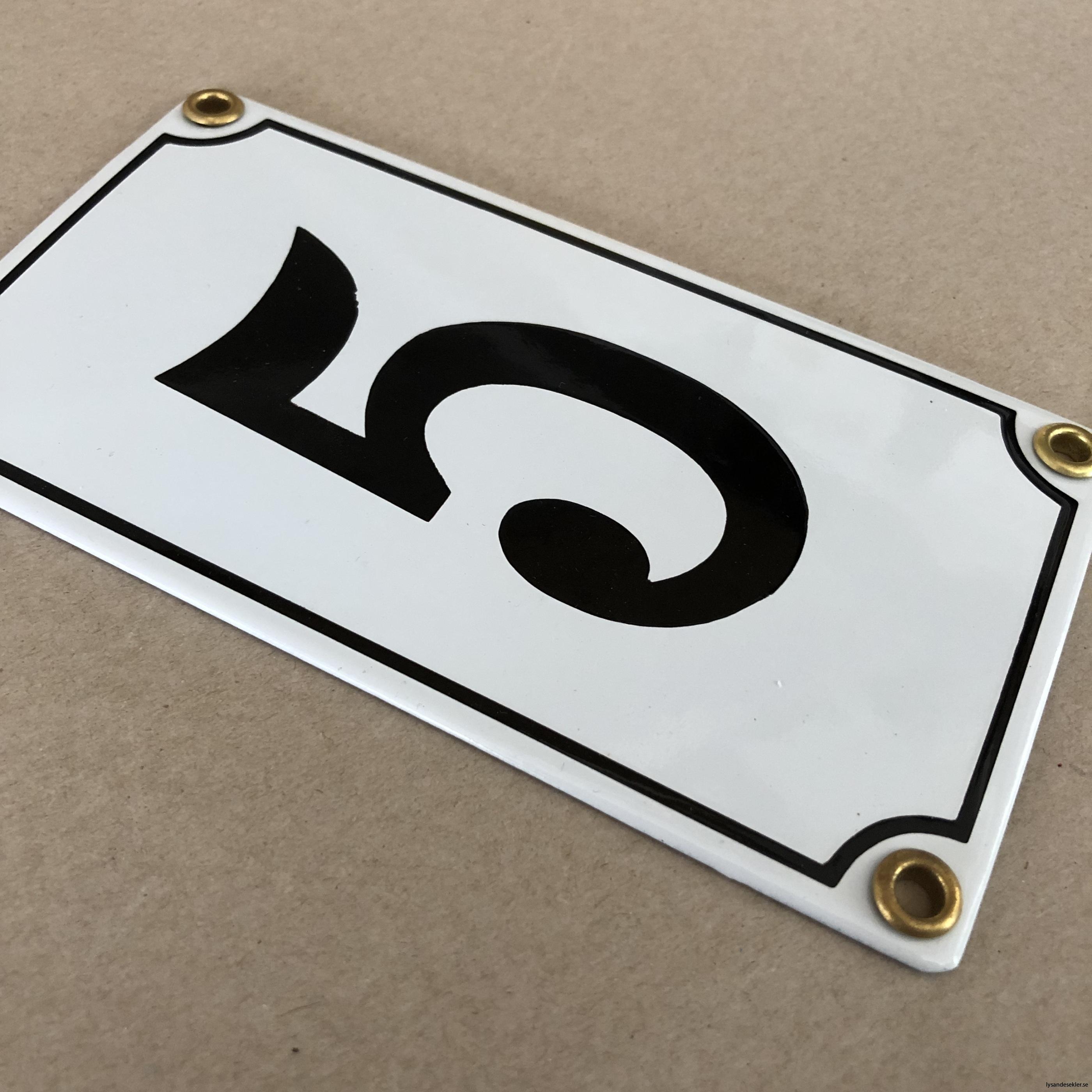 emaljsiffra siffra i emalj fasadsiffra nummer9
