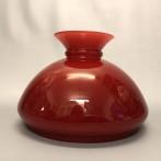 Vestaskärm vinröd - 190 mm (Skärm till fotogenlampa)