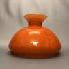 Vestaskärm orange - 190 mm (Skärm till fotogenlampa) - Vesta orangea 190 mm