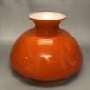 Vestaskärm orange - 235 mm (Skärm till fotogenlampa)