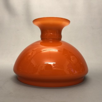 Vestaskärm orange - 155 mm (Skärm till fotogenlampa) - Vesta orange 155 mm