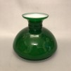 Vestaskärm mörkgrön - 155 mm (Skärm till fotogenlampa)