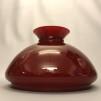 Vestaskärm vinröd - 235 mm (Skärm till fotogenlampa) - Vesta vinröd 235 mm