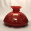 Vestaskärm vinröd - 190 mm (Skärm till fotogenlampa) - Vesta vinröd 190 mm