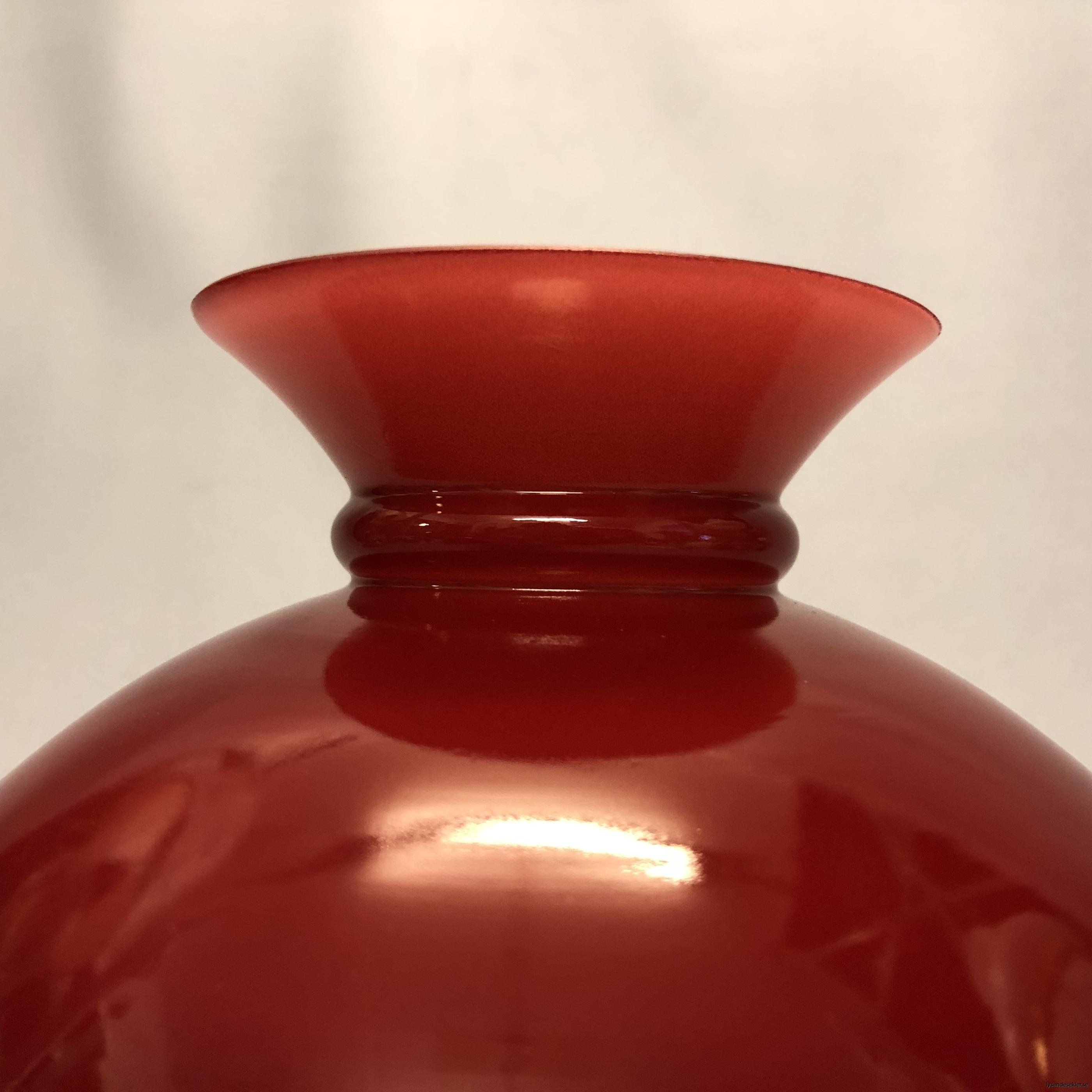 färgad vesta vestaskärm i färg fotogenskärm grön röd gul orange skärm till fotogenlampa33