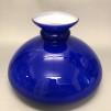 Vestaskärm mörkblå - 235 mm (Skärm till fotogenlampa)