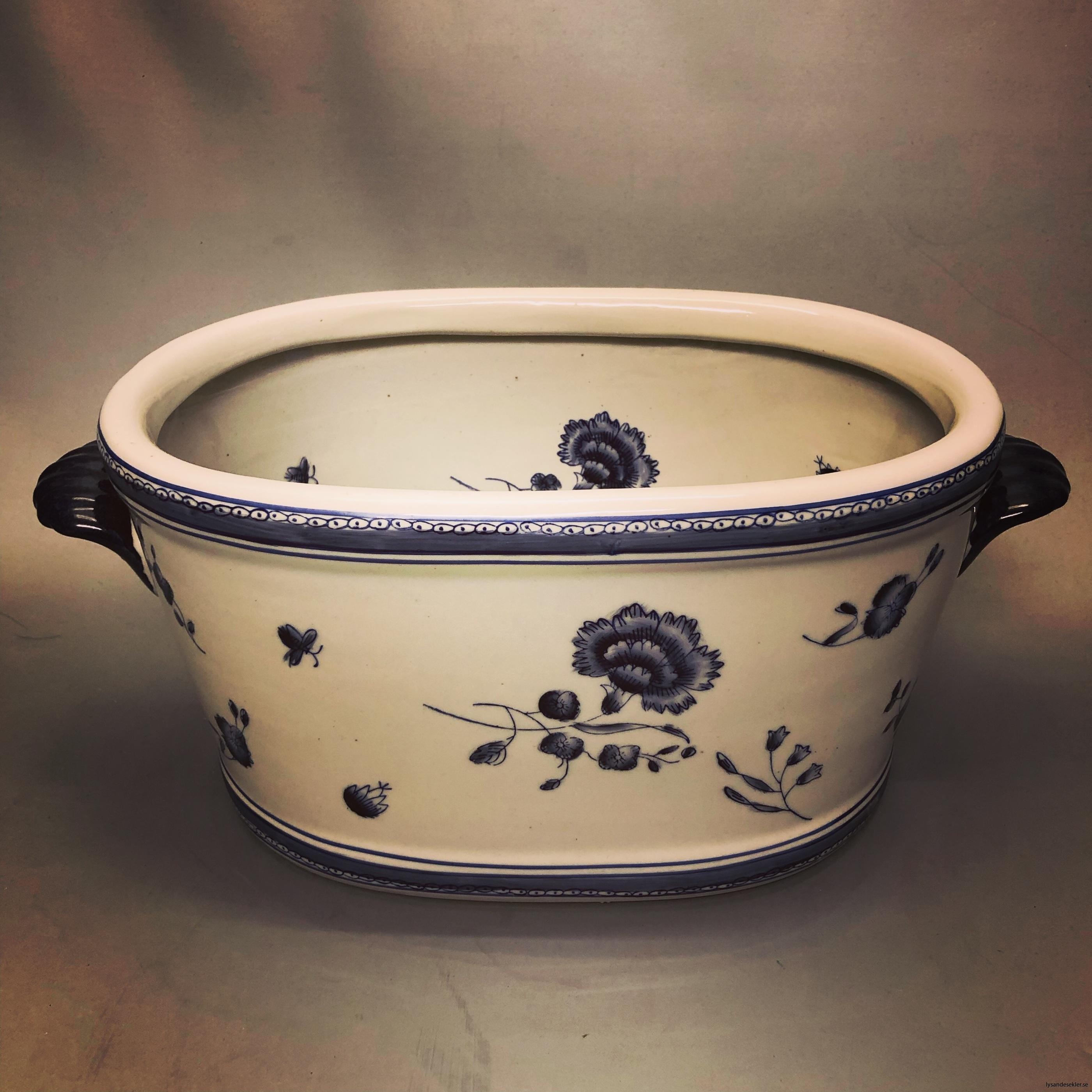 oval kruka målad keramik6