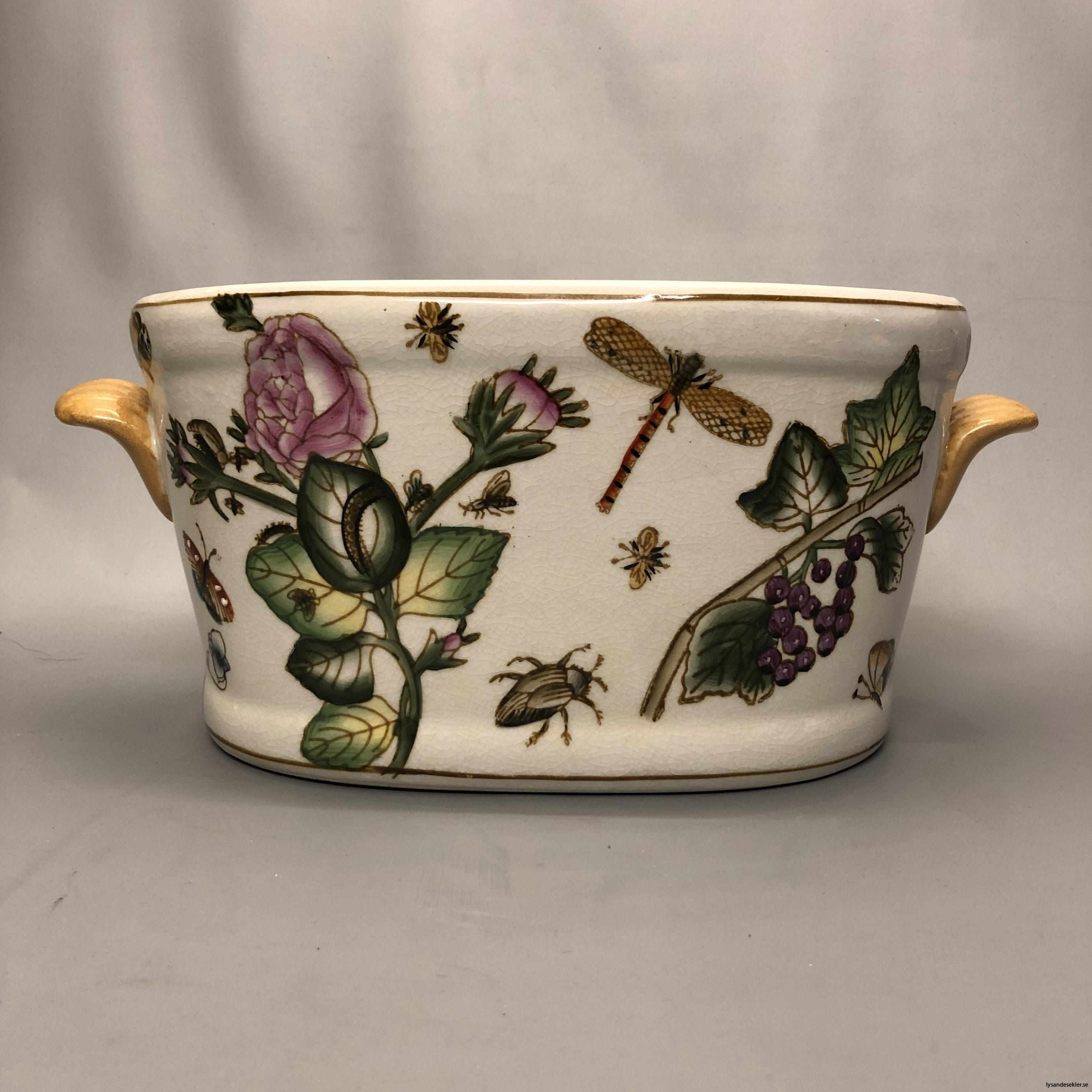 oval kruka målad keramik12